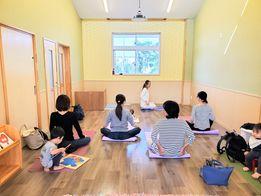 【ママヨガ教室】〜浜松市浜北区こども園ことりさんにて〜