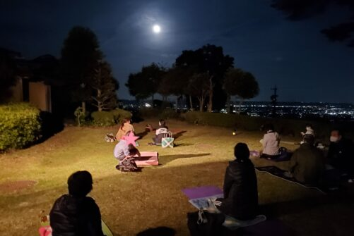 〜お知らせ〜 9月21日(火)の満月ヨガは開催中止となりました。