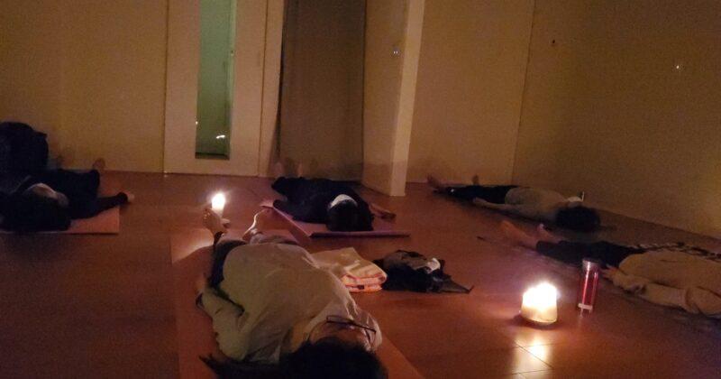 【アロマヨガ】*リラックス、安眠効果、深い呼吸で1日の疲れをリセット!in 浜松市浜北区平口