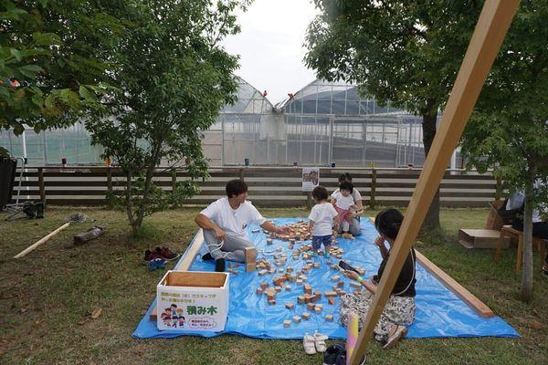 開催順延となりました!パークヨガ in いりまさの森・浜松市西区大久保町*大人も子供も楽しもう!積み木遊びやお菓子の販売もあります♪